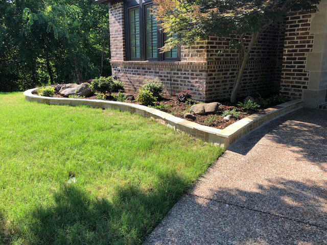 Landscaping Stone Borders Around Flower Beds Edging Borders