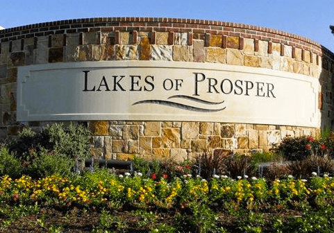 prosper tx lakes of prosper