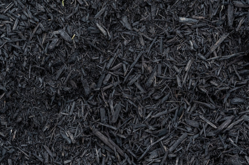 Black Wood Mulch