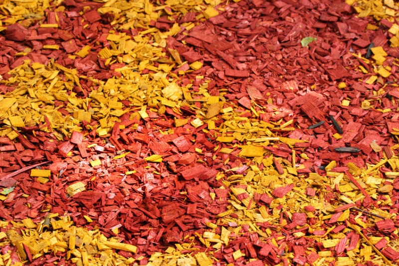 Multicolor Wood Mulch