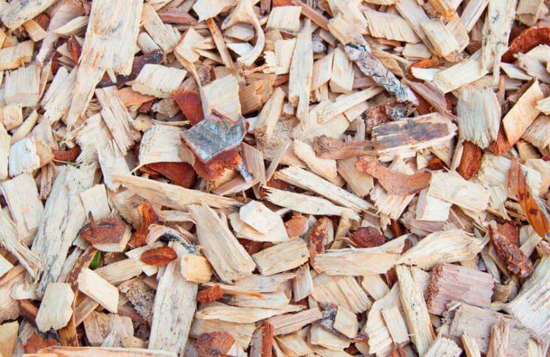 Chipped Wood Mulch