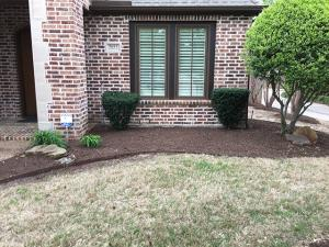Before - Front Yard Landscaping