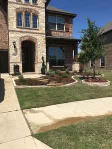 After - Flower Bed Landscaping